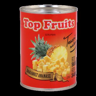 Top Fruits ananász darabolt 565g