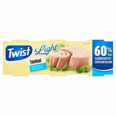 Twist Light Tonhaltörzs Olívaolajban 3x60g