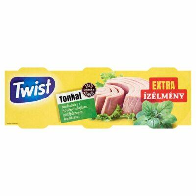 Twist Tonhaltörzs Növényi Olajban zöldfüszeres ízesítéssel 3x80g