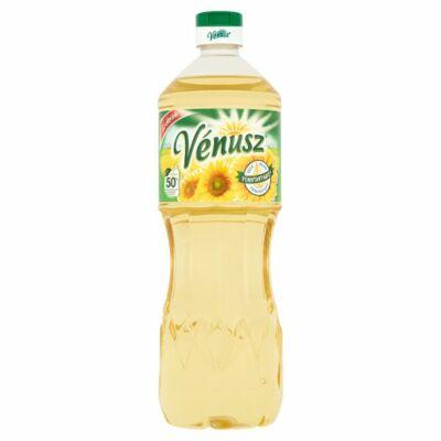 Vénusz finomított napraforgó étolaj 1l